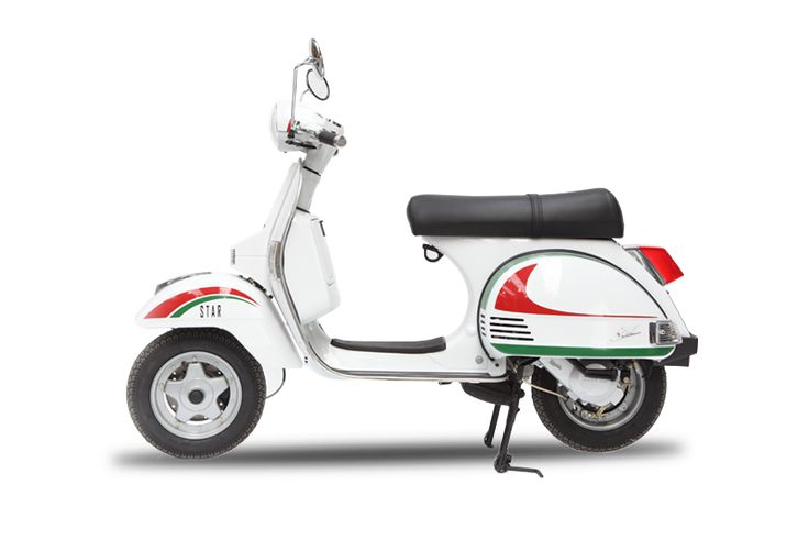 Rent and Buy scooter in Barcelona- LML STAR 125cc www.bestrentscooterbarcelona.com