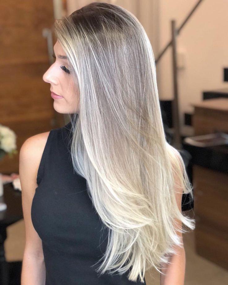Brasil perdeu, mas a vontade de ficar loira não 😂😂😂 Cabelo lindo por @ederfernaandocabelos 💙 | cabelitos de 2019 | Cabelo longo loiro, Cores de cabelo loiro e Cabelo