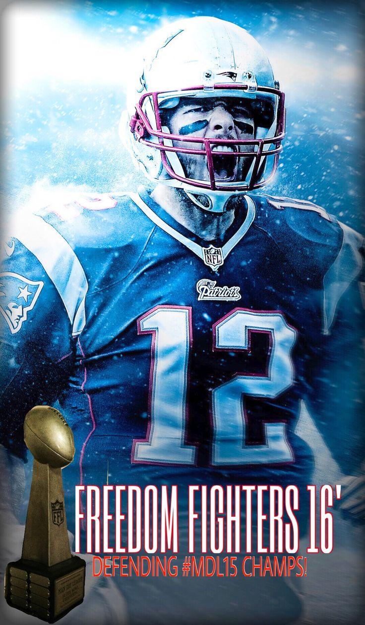 Brady freedom fighters mdl16 team logo tom brady