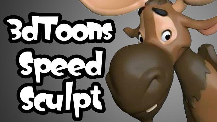 3D Toons Speed Sculpt - Modelado Cartoon en Zbrush