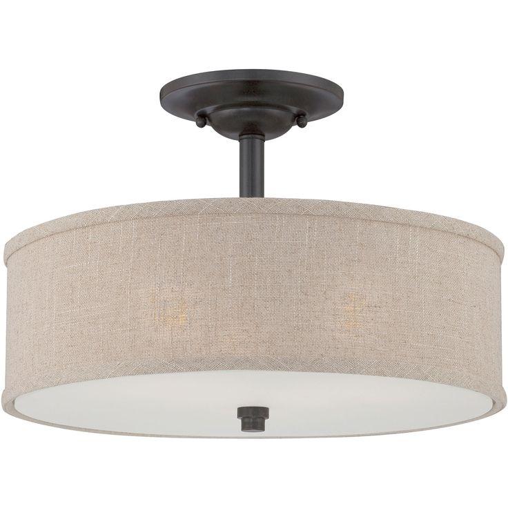 Cloverdale Semi Flush Mount Quoizel Semi Flush Flush & Semi Flush Lighting Ceiling Lightin