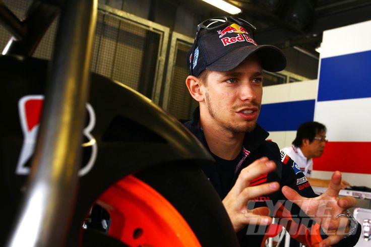 Casey Stoner Tests Production Honda MotoGP Bike