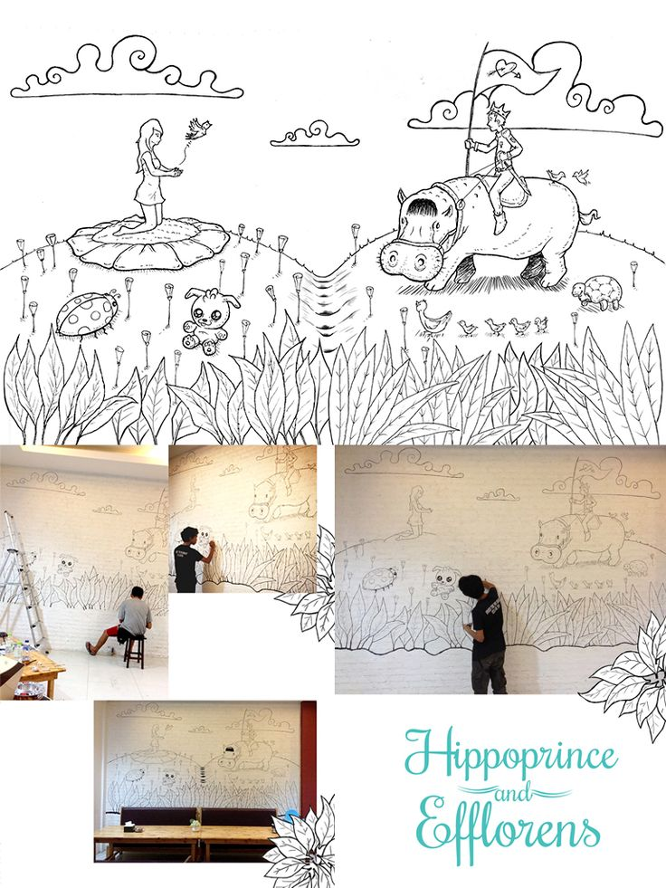 Hippoprince and Efflorens Mural Project by BonanaGone
