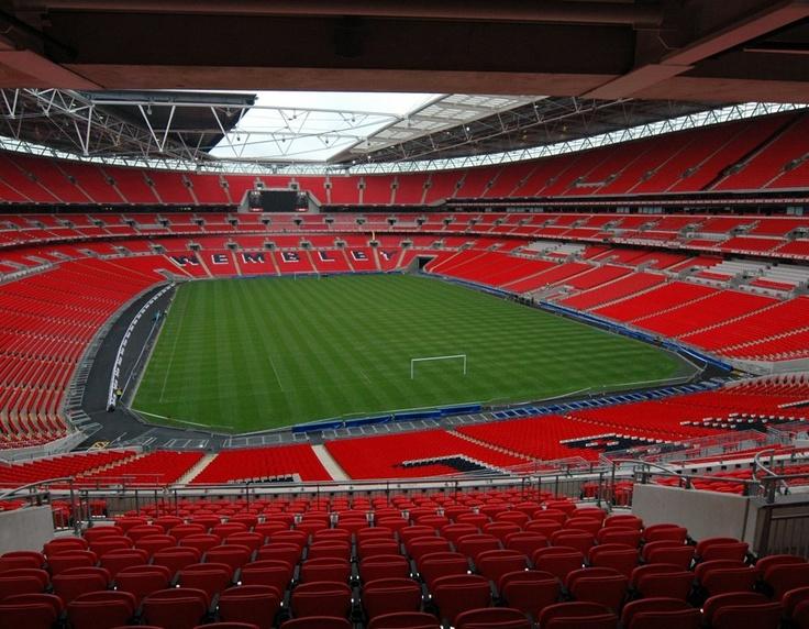 Inside Wembley Stadium