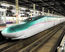 新幹線 Green Bullet Train in Japan