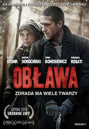 """""""Obława"""", reż., scen. Marcin Krzyształowicz. Obsada: Maciej Stuhr, Marcin Dorociński, Sonia Bohosiewicz, Weronika Rosati. 88 min."""
