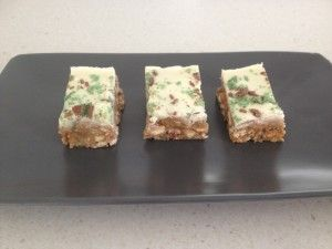Chocolate Peppermint Crisp Slice - Bake Play Smile