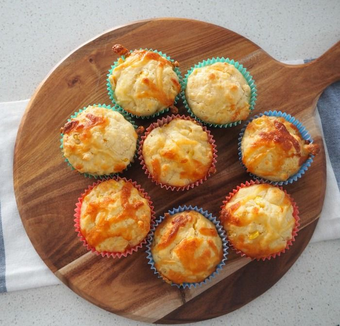 These Thermomix Cheese and Corn Muffins make a great savoury snack and are…
