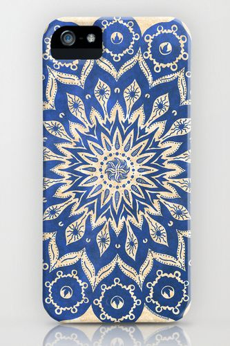 19 Chic iPhone Cases You Need Now! #refinery29  http://www.refinery29.com/53119#slide15  Peter Patrick Barreda Okshirahm Sky Mandala iPhone 5 Case, $35, available at Society6.