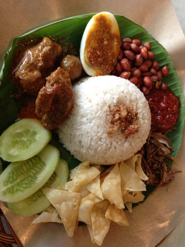 Indonesian food - Nasi Langgi