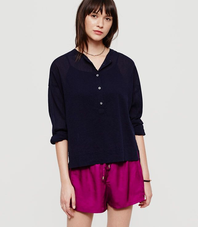 Lou & Grey Safari Shirt - Ann Taylor LOFT - November 2016