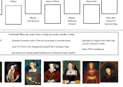 King henry viii wives primary homework help