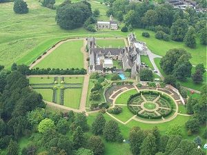 Rockingham Castle in Leicestershire