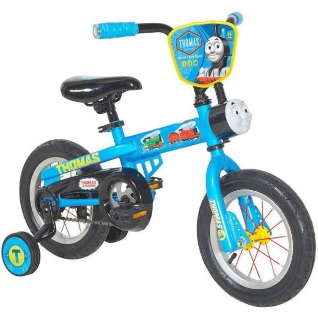 "NEW Kids' Bicycle with Training Wheels Dynacraft Thomas the Train 12"" Boys' Bike"