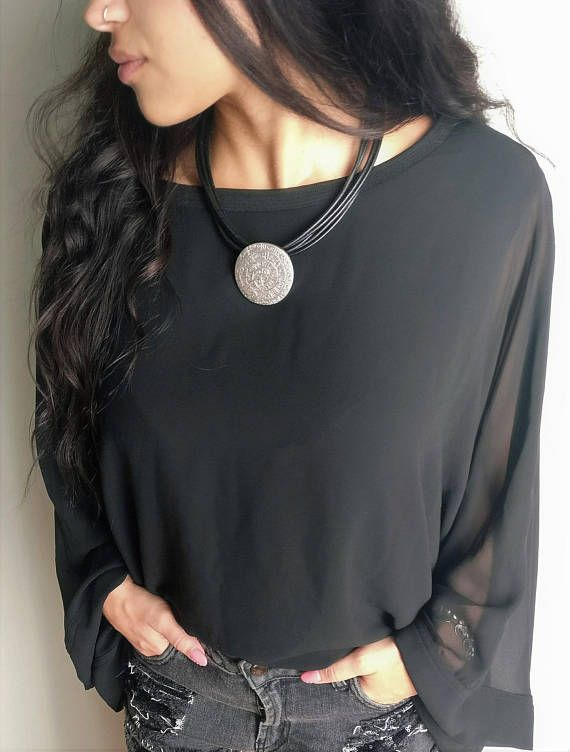 Greek Faistos disk necklace,silver statement disk leather choker, Ancient Greek Inspired Jewelry,womens leather cords jewelry,womens gift