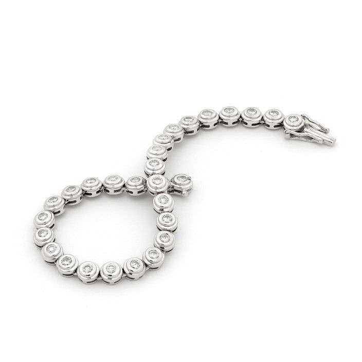 Wendy Manzo Jewellery. The tennis bracelet is loved by all the girls.