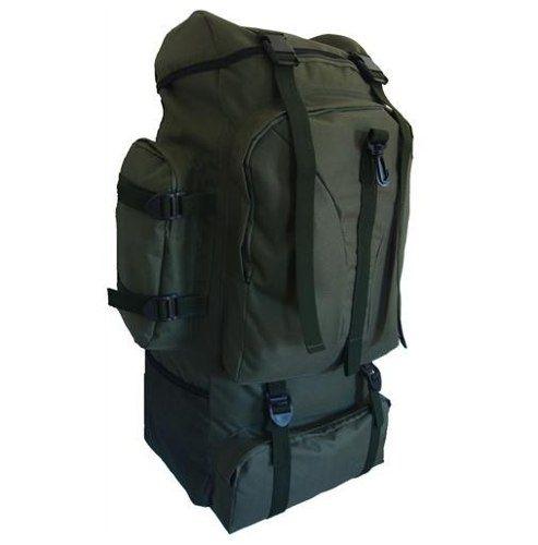 Mochila camuflada jumbo de grande capacidade. Ideal para viagens ou acampamento e trilhas em geral. Cores Verde Oliva ou Camuflado. Capacidade de aproximamente 80 litros