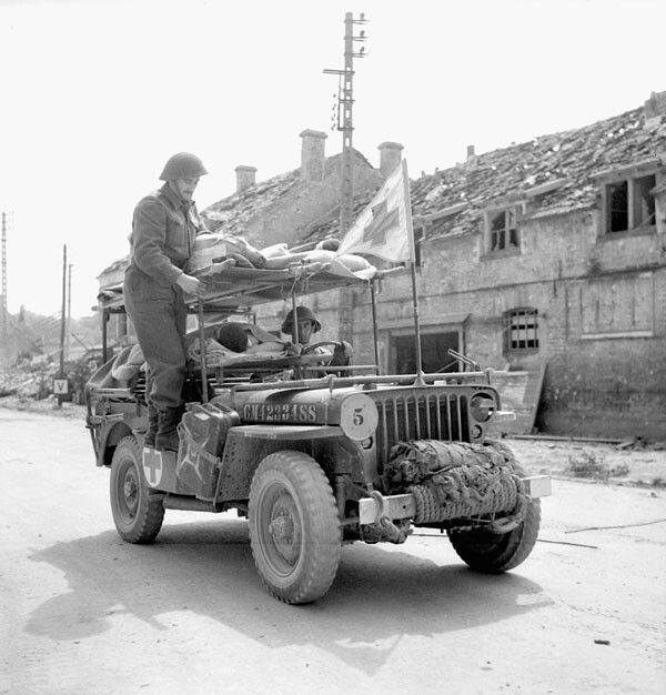 Canadian Army Medical Corp- Vaucelles july 1944, pin by Paolo Marzioli