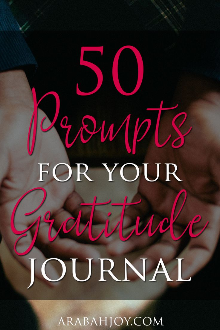 God used my frustration that afternoon to spark hope and change in my soul simply with one word: gratitude. Here are 50 prompts for your gratitude journal.