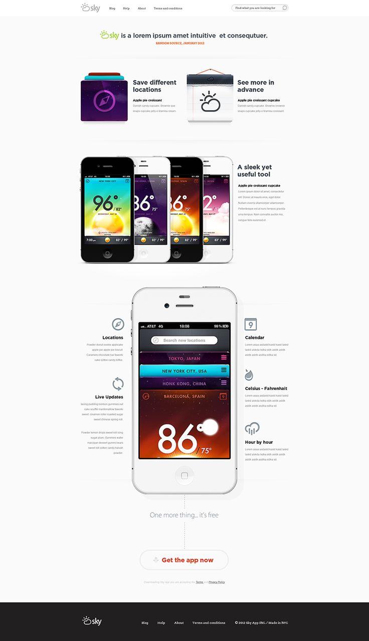 Sky Weather App (concept)