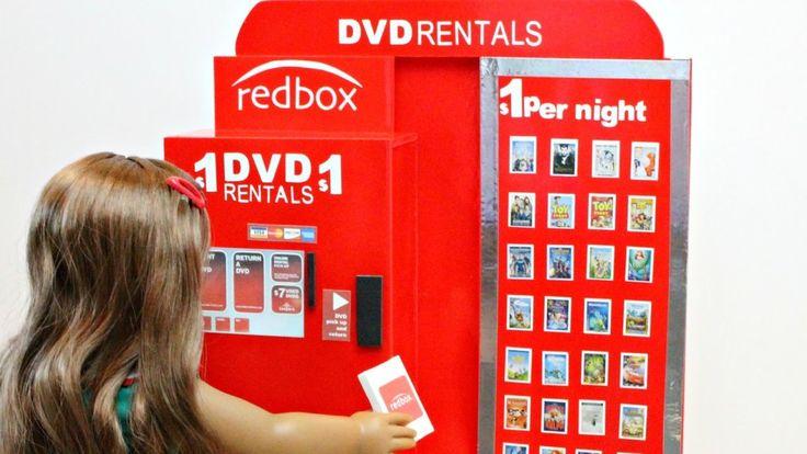 Doll Redbox DIY | American Girl Doll Crafts