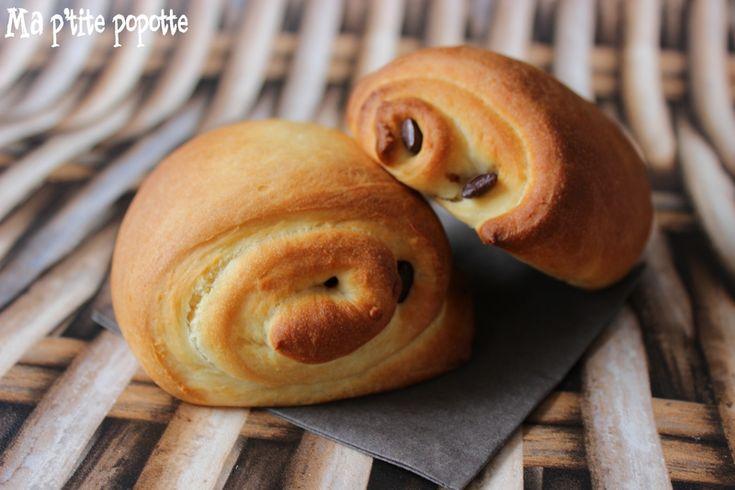 pain au chocolat brioché / illusion viennoiserie ma p'tite popotte popottegourmande.canalblog