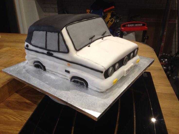 Best VW Cake Images On Pinterest Cake Ideas Birthday Cakes - Car engine birthday cake