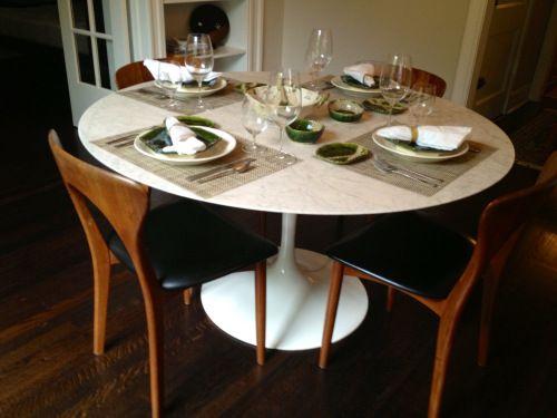 32 best Saarinen Tulip Table images on Pinterest | Saarinen table ...