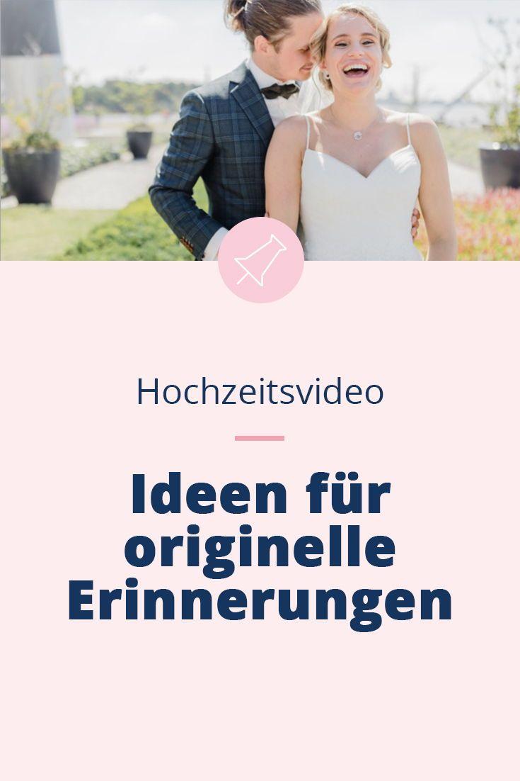 Hochzeitsvideo Ideen: die lustigsten Erinnerungen ...