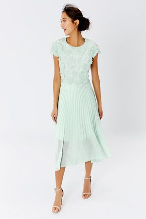 Great This modern style is a charming choice for your next event The Darianna Embroidered Dress Bridesmaid ShoesWedding Bridesmaid DressesWedding Guest