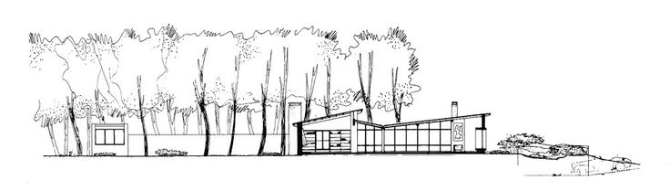 Casa Gallarda para Rafael Alberti | Antonio Bonet | Cantegril | 1945