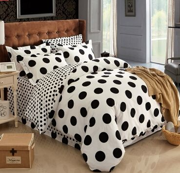 black and white polka dot bedding,polka dot bedding,