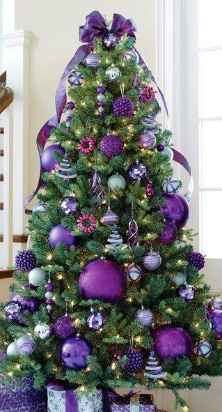 We wish you a purple Christmas.