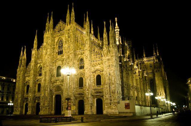 Il #Duomo di #Milano di notte
