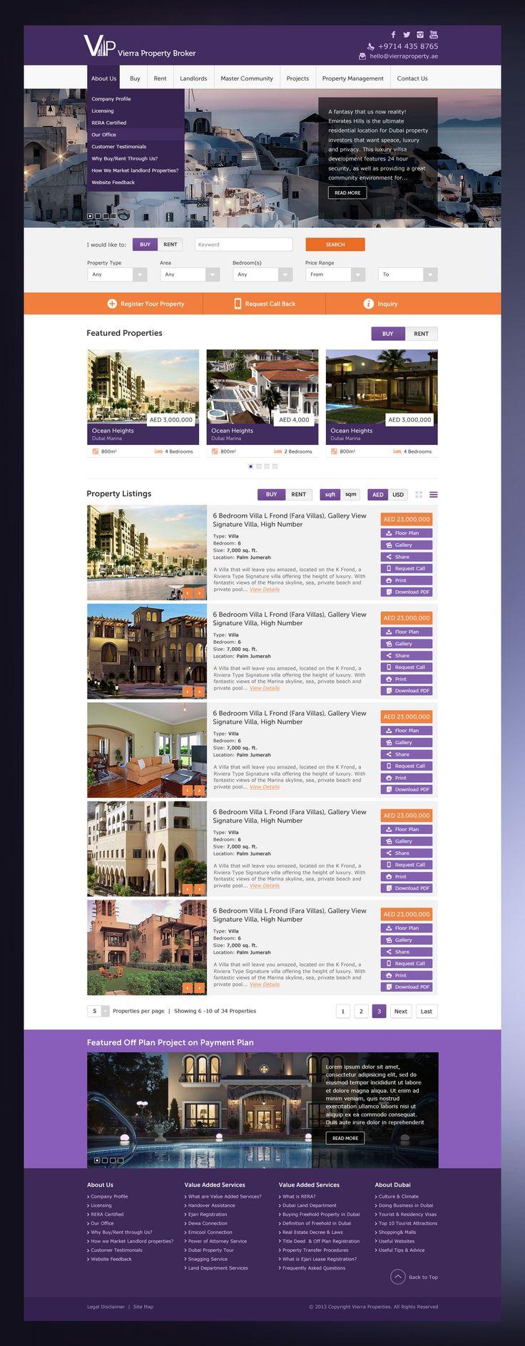 Property Broker Website