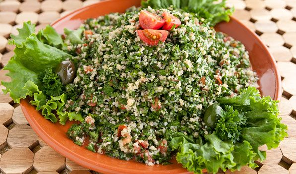 Classic Tabbouleh - In the Kitchen with Stefano Faita