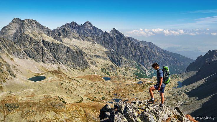 On the summit of Vyhodna Vysoka. Tatra Mountains. Slovakia