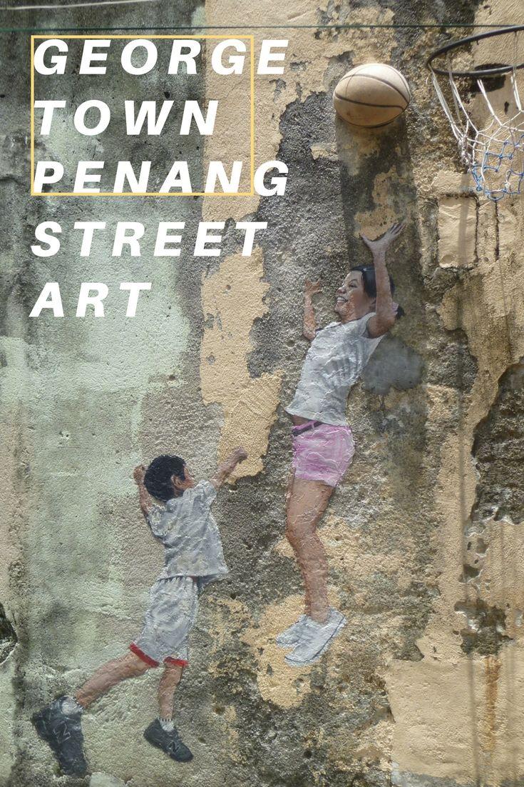 Wunderbar vielfältig: Penang – Street Art im asiatischen Mikrokosmos http://www.travelcurly.com/street-art-penang-georgetown/ #streetart #penang