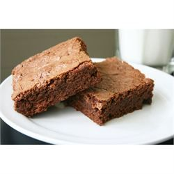 Quick and Easy Brownies (mb note: makes 48 mini-muffin sized brownies. Bake 15-20 min).