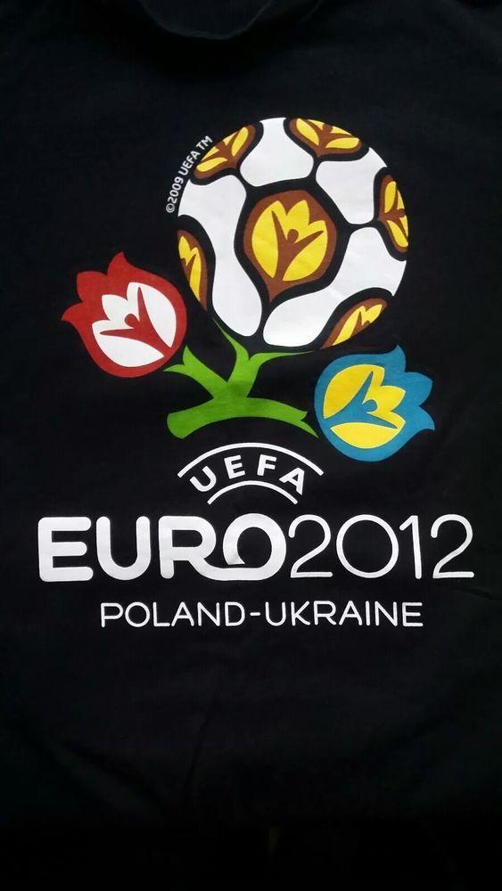 UEFA EURO 2012 Poland   Ukraine European Soccer Championships T-Shirt M  Medium  fashion  clothing  shoes  accessories  unisexclothingshoesaccs ... e28fc94d3