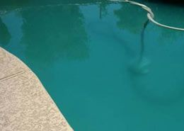 How do I get rid of cloudy pool water?