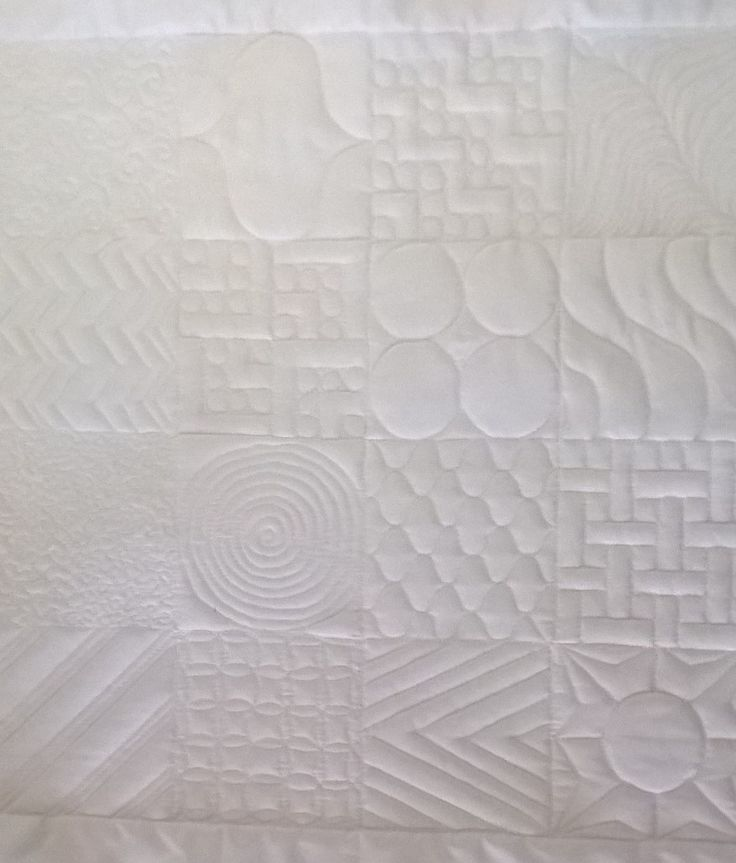 Another of the blocks for my quilt. I decided to do a sampler with a more modern twist