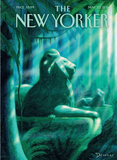 New Yorker cover, May 23, 2011. Eric Drooker