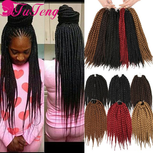 Best 100 box braids hair images on pinterest braid hair braided hair and braided hairstyles - Crochet braids avec xpression ...