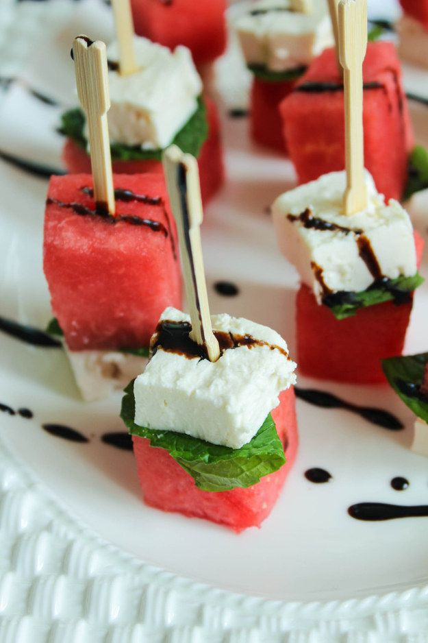 4-Ingredient Watermelon Salad Sticks