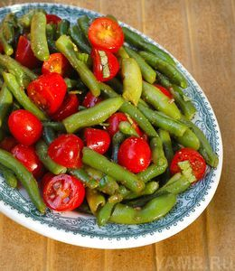 Рецепт салата из зеленой фасоли 47