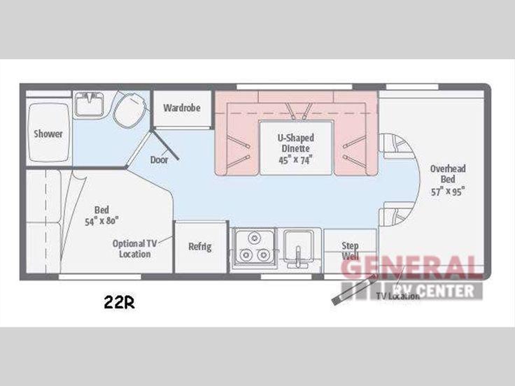 New 2016 Winnebago Minnie Winnie 22R Motor Home Class C At General RV    North Canton