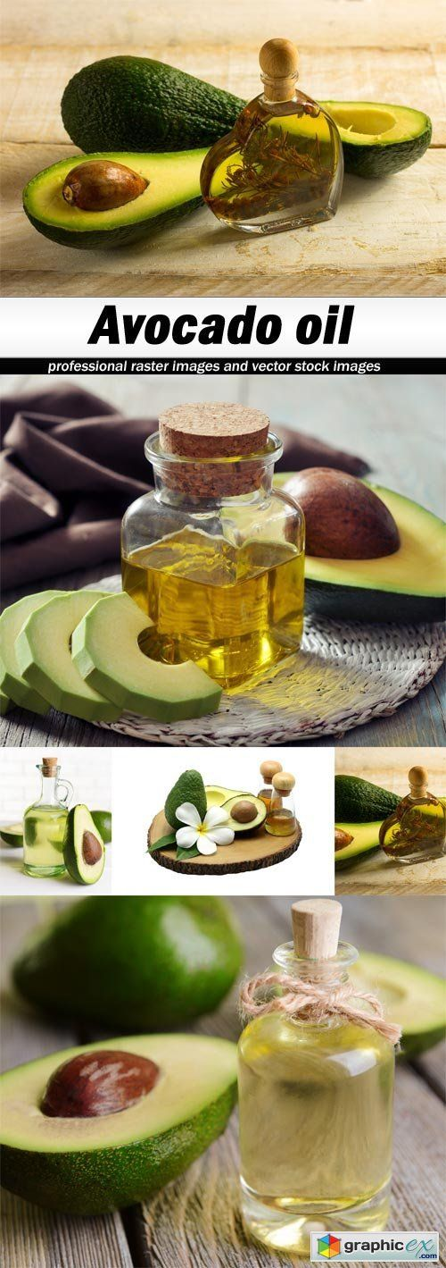 Avocado oil  stock images