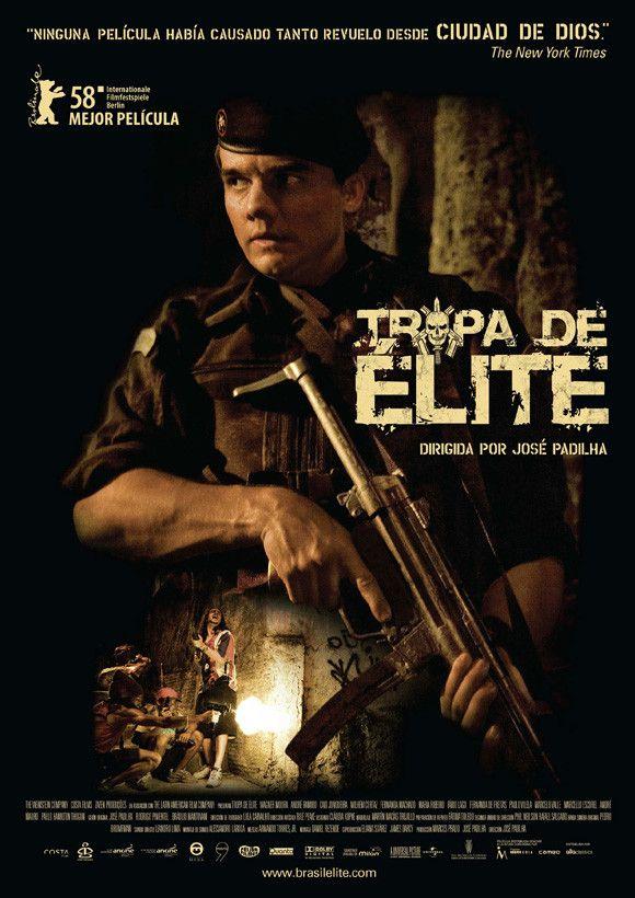 Elite Squad (Brazilian) 27x40 Movie Poster (2007)