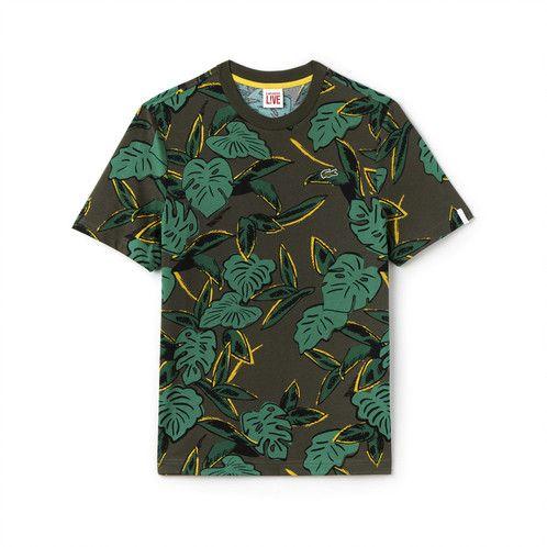 Camiseta Tropical Print - Lacoste | Árbol Shop